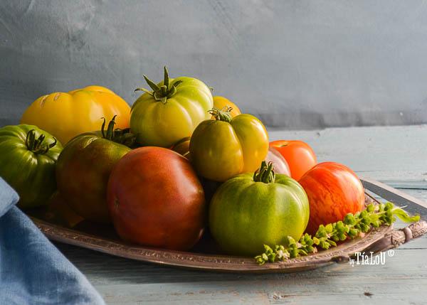 Zumo de tomate con truco bien sano.