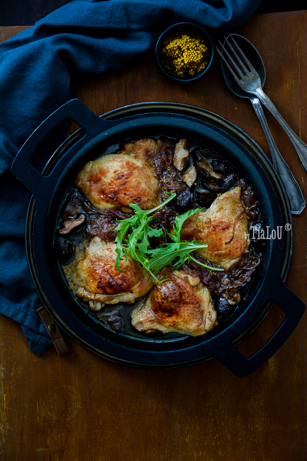 Pollo a la mostaza casera by Tía Lou