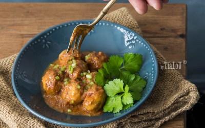 Albóndigas con curry