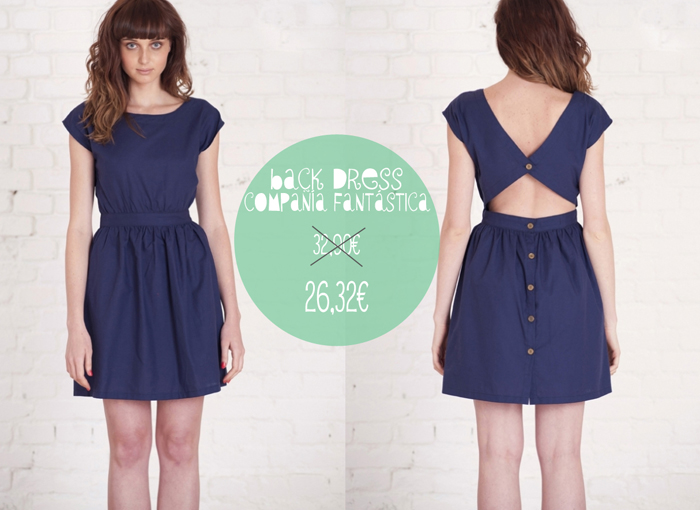 Back Dress de Compañía Fantástica