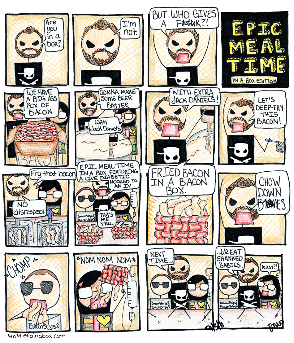 Epic Meal Comic