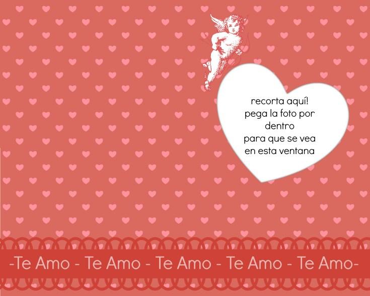 Tarjetas Y Corazones Para Imprimir Para El Dia Del Amor San