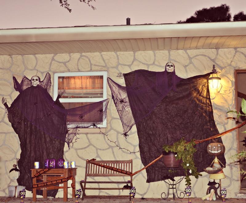 Decoraciones de halloween espantosamente econ micas - Decoracion halloween ...