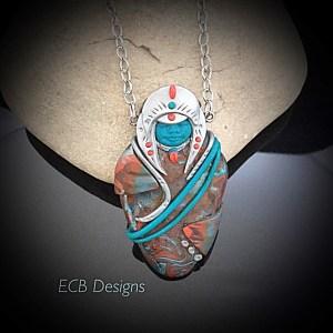 goddess pendant - Elihino