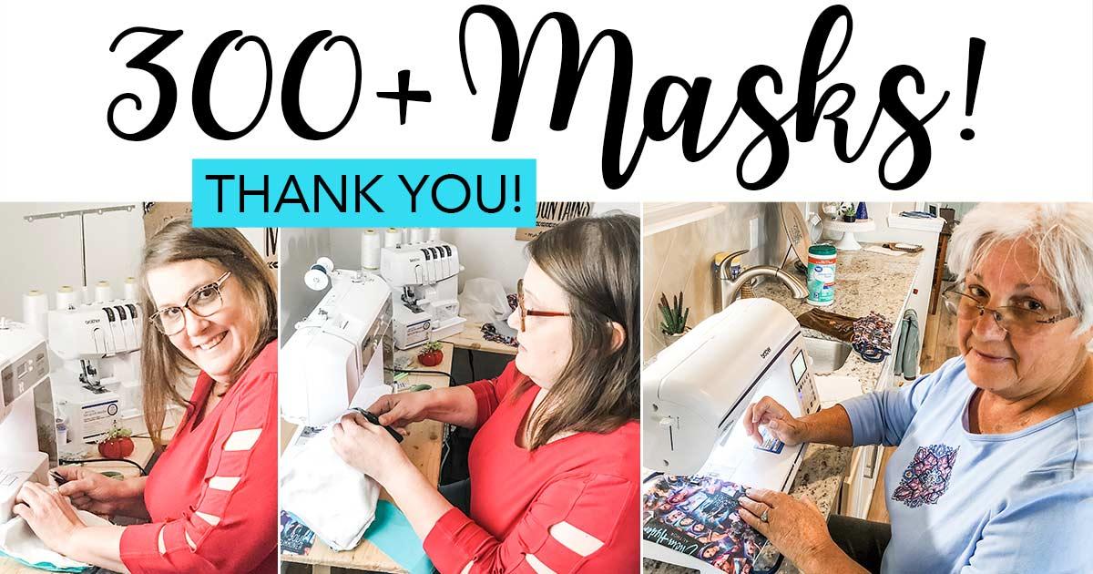 100 Free Cloth Masks to 100 Winners!