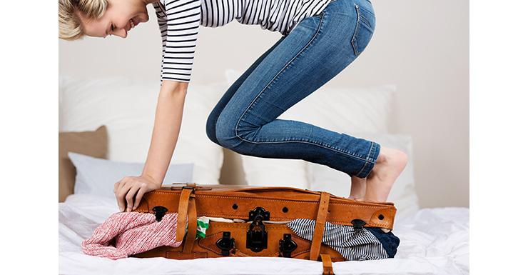cosmetici in valigia