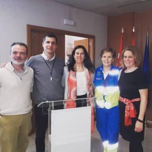 Charla SUMMA Ictus (Ángel Pérez, Nicolas Riera, Laura Izquierdo, Concha García-Villanova y Élida Peñalver)