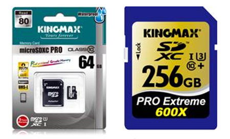 KingMax card supports writing 4K2K resolution