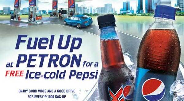 Get Free cold drinks with your Petron Value Card