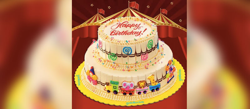 Goldilocks Step right up to the carnival birthday cake Best