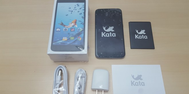 First look at the Kata i3L (unboxing and first impression)