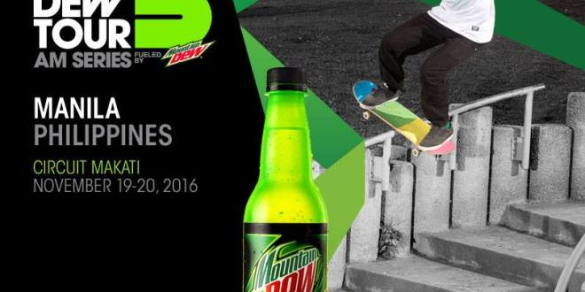 Mountain Dew brings Dew Tour AM series to Manila!