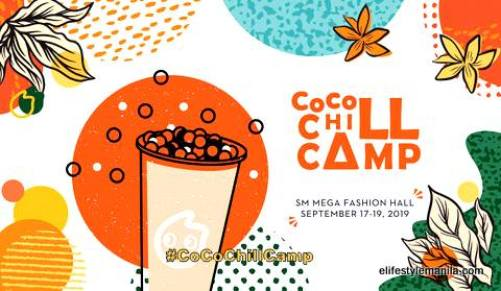 CoCo Chill Camp from Sept 17 - 19, 2019 at the SM Megamall Lifestyle hall