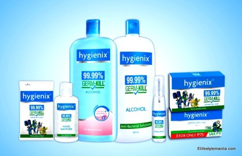 The Hygienix Germicidal Soap kills 99.99% of germs and common disease-causing bacteria with every use and is available for as low as the super sulit price of 12php