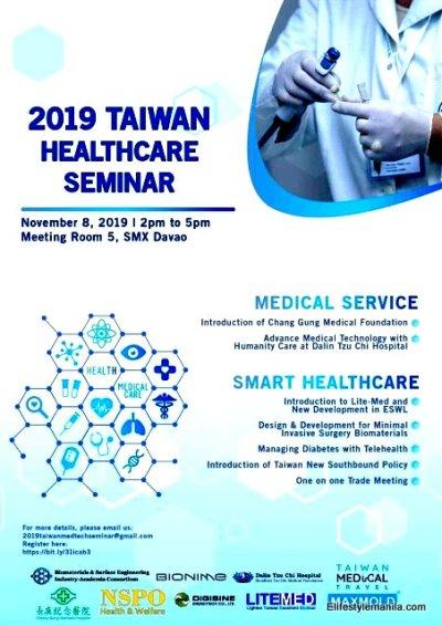 Taiwan Medical Technology Seminar 2019 goes to Mindanao