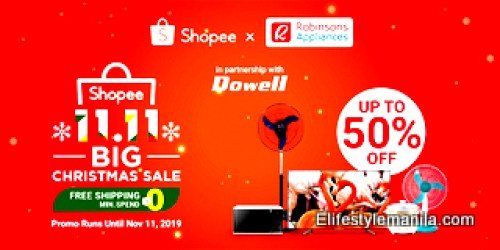Robinsons Appliances joins Shopee 11.11