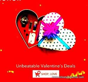 HONOR 4 day valentine sale on lazada and shopee
