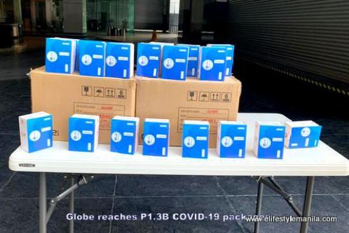 Globe reaches P1.3B COVID-19 packages