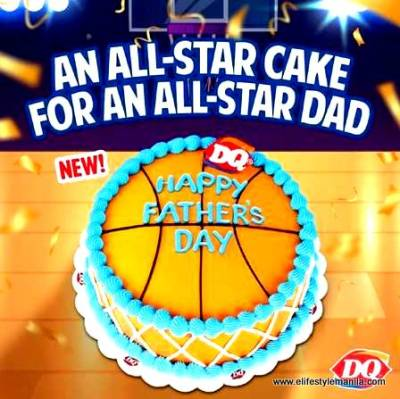 Dairy Queen's Father's Day Ice Cream cake