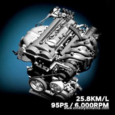 Hyundai Reina engine