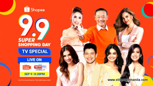 Shopee 9.9 Super Sale on GMA News TV