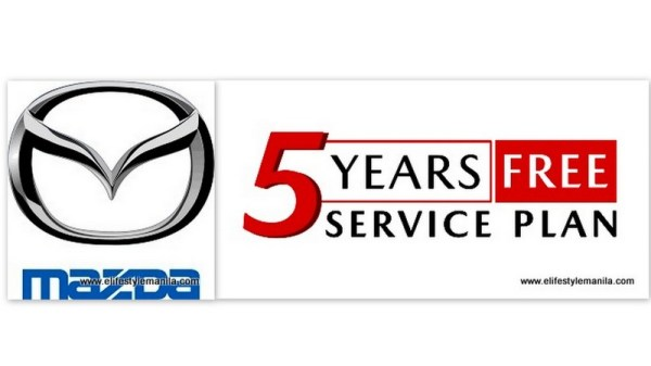Mazda Ph extended 5-year service