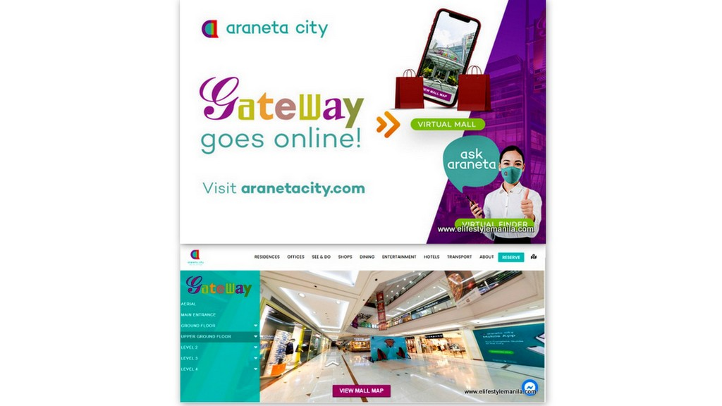 araneta city, the city of firsts
