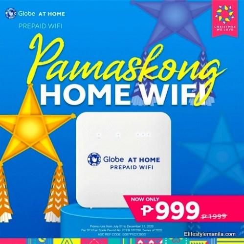 Pamaskong Home WiFi from Globe Telecom