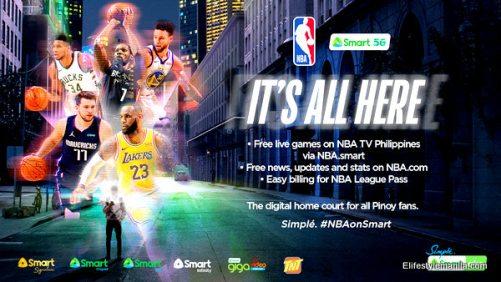 NBA on Smart Communications