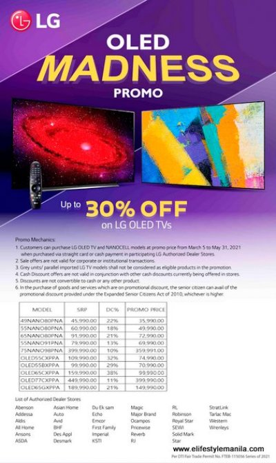 LG OLED Madness Promo extended