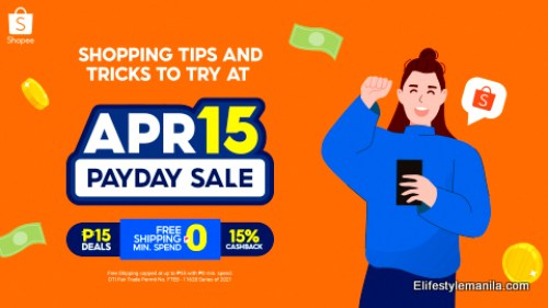 Shopee 4.15 Payday Sale