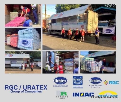 Uratex donates 2,000 matresses