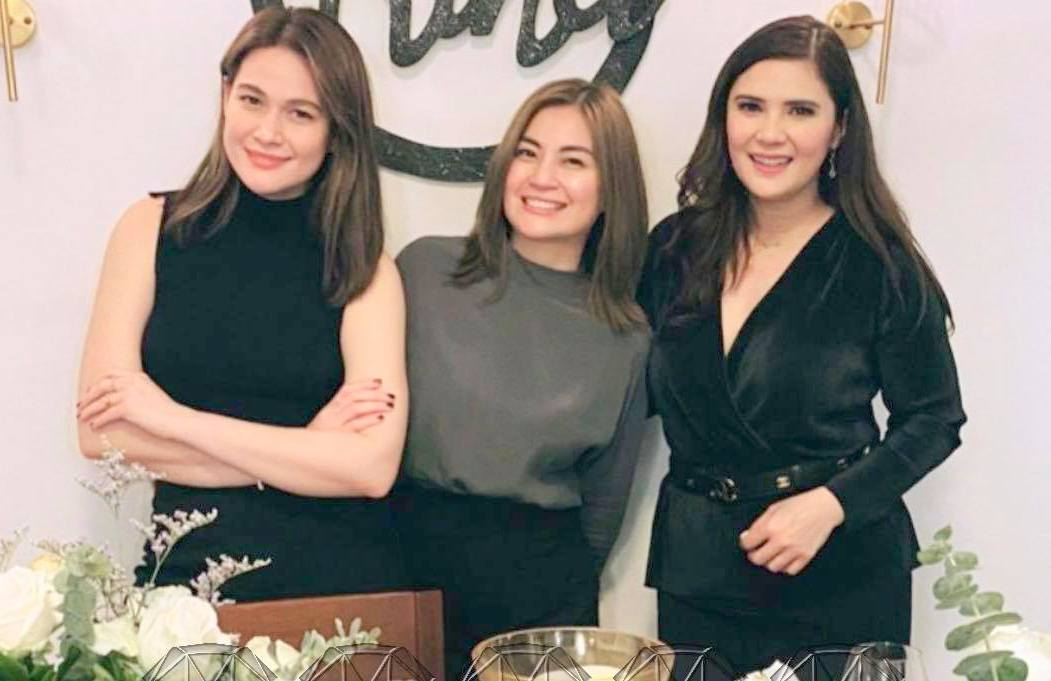 Rina, Vina and Bea send love to PGH fire victims today