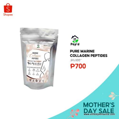 Pure marine collagen peptides