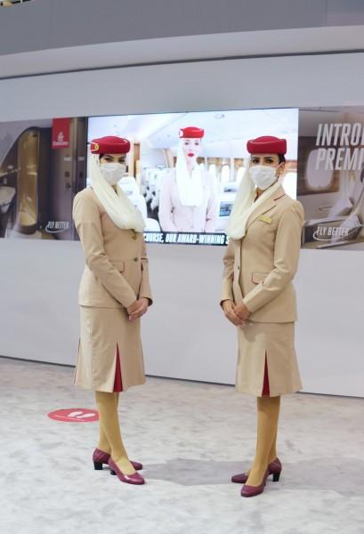 Emirates at Arabian Travel Market show