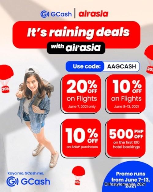 GCash and Airasia
