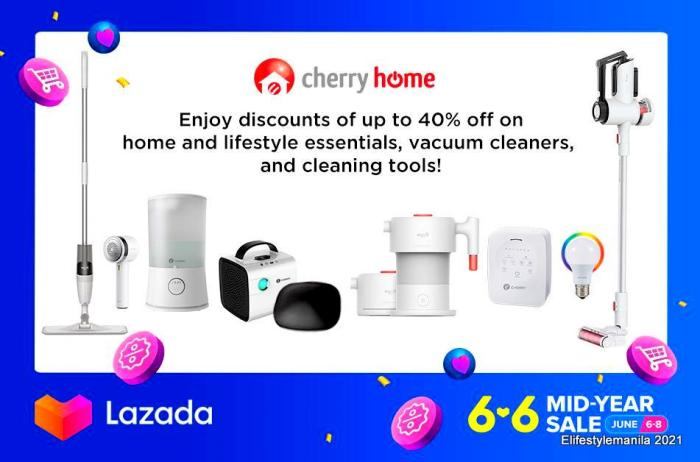 Cherry 6.6 midyear sale in Shopee and Lazada
