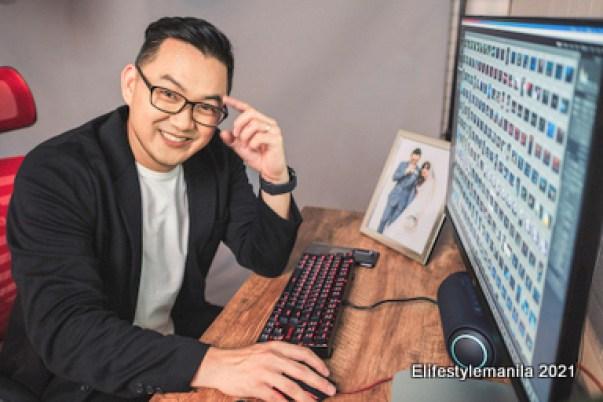 Photographer Magic Liwanag for LG Electronics Philippines