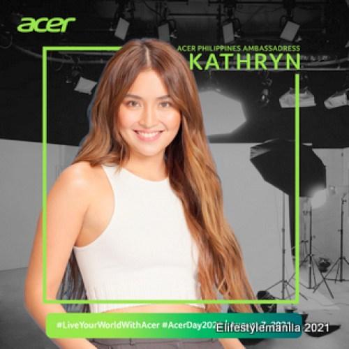 Kathryn Bernardo joins Acer Day 2021
