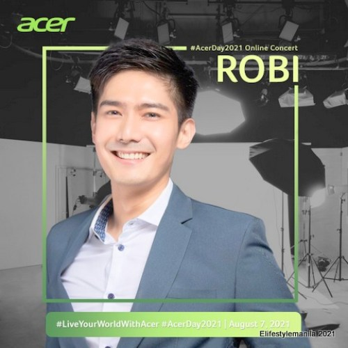 Acer Day 2021 hosted by Robi Domingo