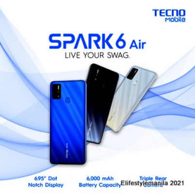 TECNO Mobile Spark 6 Air