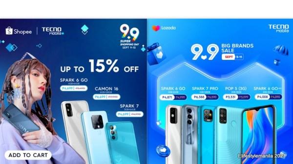 TECNO Mobile 9.9 sale