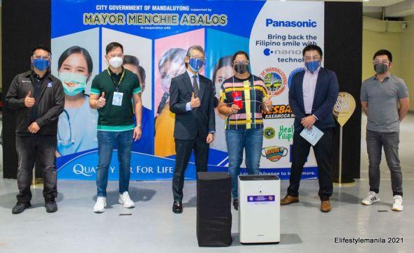 Panasonic and Mandaluyong City partnership