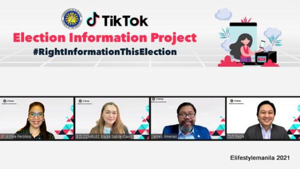 TikTok and COMELEC partnership