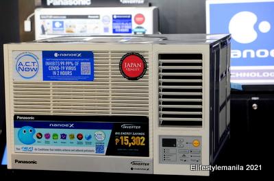 Panasonic nanoe x technology