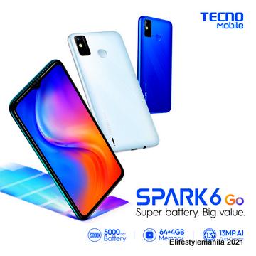 TECNO Mobile Spark 6 Go