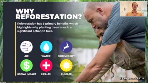 Nestle Ph reforestation with bamboos