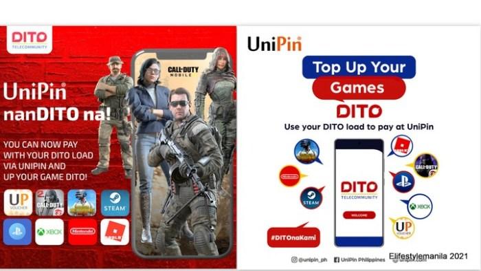 DITO Telecommunity partners with UniPin