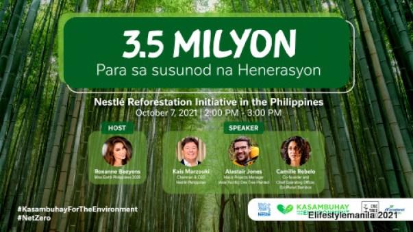 Nestle Ph reforestation