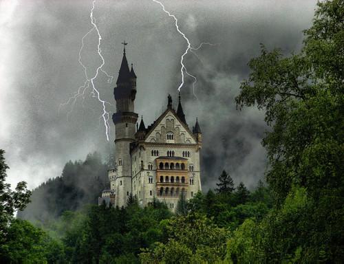 Dark Shadows, Neuschwanstein Castle, Germany